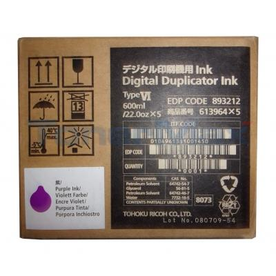 RICOH TYPE VI DIGITAL DUPLICATOR INK PURPLE